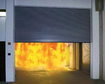 隔离防火钢门案例