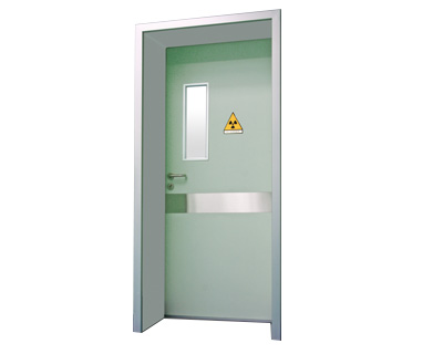 防辐射平开门